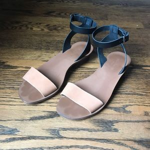MADEWELL Sandals, 100% Leather, s8.5